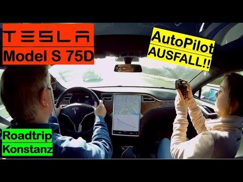 Roadtrip Konstanz mit dem Model S | Autopilot total Fail | A better Routeplanner | Strominator