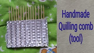 DIY Quilling tool for making paper quilling flowers, leaves etc