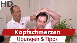 Was tun bei Kopfschmerzen? - Übungen & Tipps vom Schmerzspezialisten