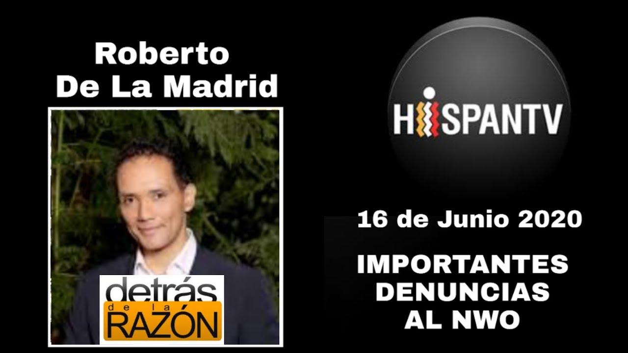 IMPERDIBLE!! Roberto De La Madrid hace una entrevista que blanquea los intereses del NWO.