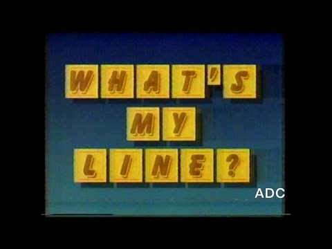 What's my line (UK) Thames Production 7th April 1989 Announcer Philip Elsmore.