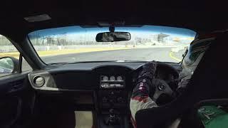 2018 0211 Rikosei 86 デモカー  筑波サーキット コース2000