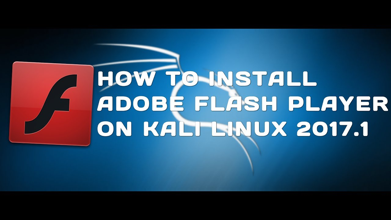 cara install adobe flash player di kali linux