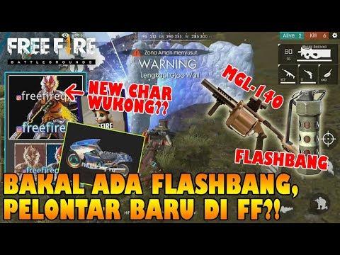 BAKAL Ada FLASHBANG, PELONTAR BARU, New Char Wukong Cuy?! - Free Fire