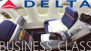 Delta One BUSINESS CLASS LAX-JFK|Boeing 767