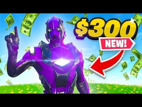 *NEW* Exclusive $300 Fortnite Skin!