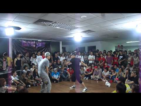 Ha Noi Jam 1vs1:BBoy Cancel vs TF star