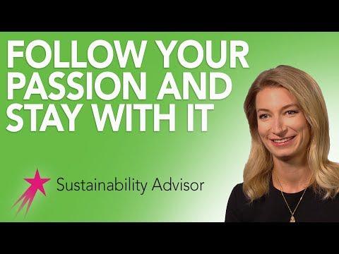 Sustainability Advisor: Advice - Michaela Rose Career Girls Role Model