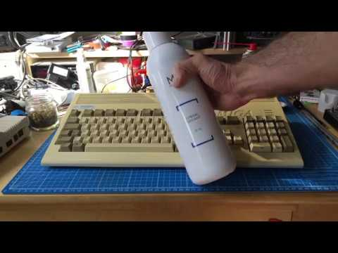 Retrobrighting my Amiga 1200