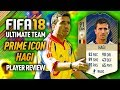 FIFA 18 PRIME HAGI (91) *ICON* PLAYER REVIEW! FIFA 18 ULTIMATE TEAM!