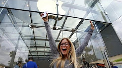 First in line for iPhone 6 - The Story   iJustine