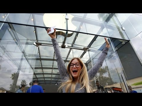 First in line for iPhone 6 - The Story | iJustine