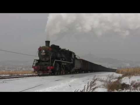 SY 1437 storming out of Zhengyang... (HD)