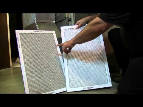 Changing Removable Media Furnace Filters