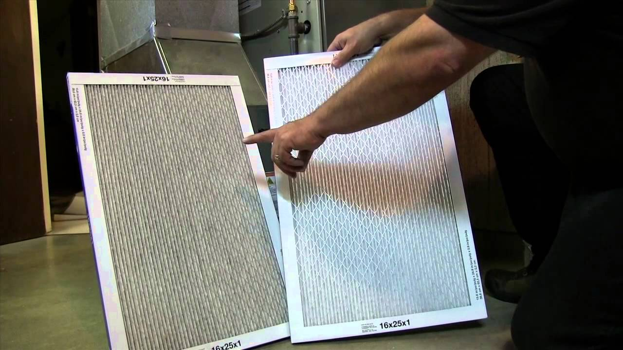 Changing Removable Media Furnace Filters Youtube Kit15815 Trane Xv80 2 Stagevariable Speed Gas