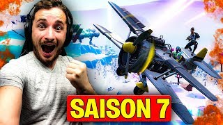 SAISON 7 IS TROP COOL ON FORTNITE !!! MAP - COMBAT PASS