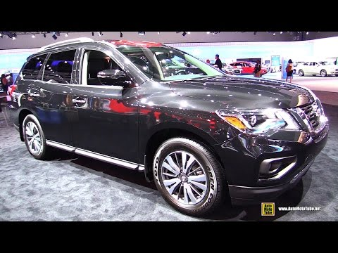 2017 Nissan Pathfinder SV - Exterior and Interior Walkaround - 2016 LA Auto Show