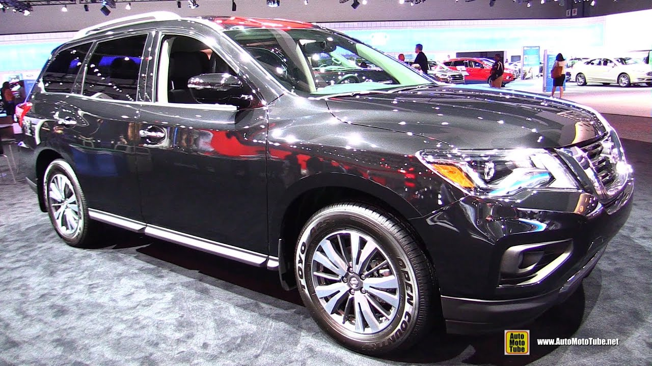 2017 Nissan Pathfinder Sv Exterior And Interior Walkaround 2016