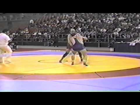 1994 World Cup: 100 kg Greg Edgelow (CAN) vs. Ayub Bani Nosrat (IRI)