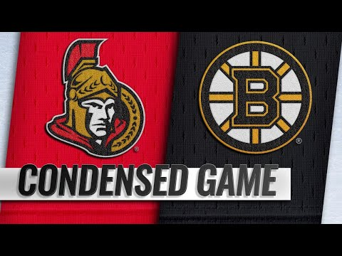 10/08/18 Condensed Game: Senators @ Bruins
