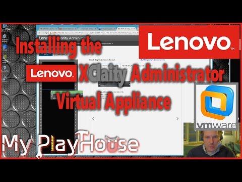 Lenovo XClarity Administrator - Installing the Virtual Appliance - 462