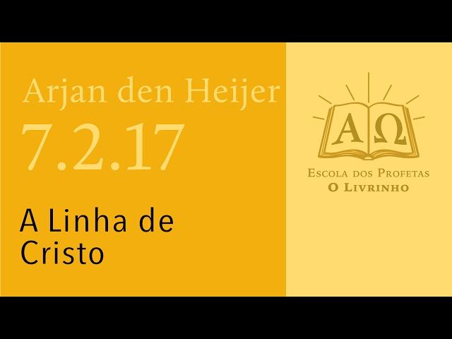 (7.2.17) A Linha de Cristo