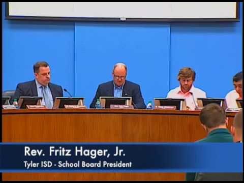 Tyler ISD Regular School Board Meeting - July 27, 2017