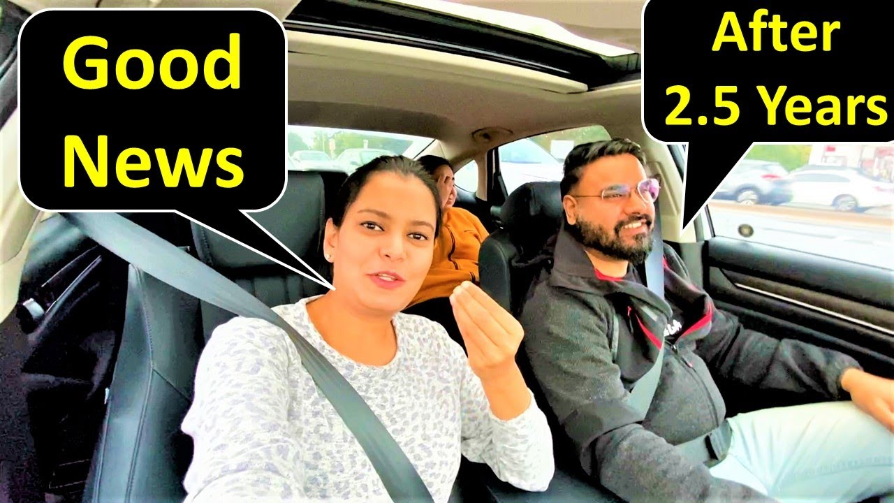 Good News After 2.5 Years 😍 | Canada To India | Canada Couple Vlogs