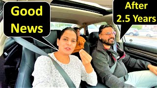 Good News After 2.5 Years 😍 | Canada To India