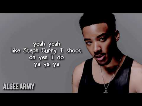 "Algee Smith - ""Steph Curry"" w/ lyrics"