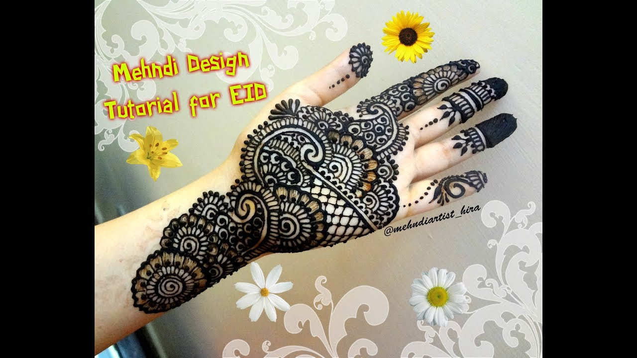 Designs Of Mehndi For Palm : Mehndi designs how to apply easy simple latest palm