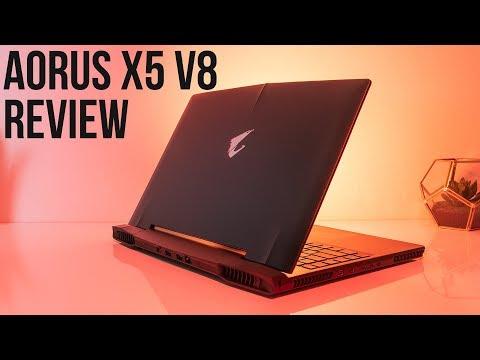 Aorus X5 v8 Gaming Laptop Review and Benchmarks