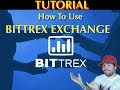 How To Use Bittrex - Bitcoin And Altcoin Trading Exchange
