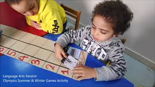 06-02-2020 Language Arts Session - Olympics Winter & Summer Games Activity.