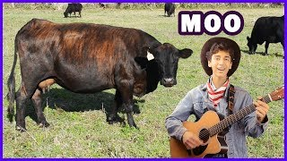 Old MacDonald Had a Farm | Animal Nursery Rhymes for Children, Babies and Toddlers