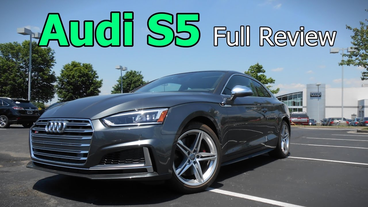 Audi Premium Plus Vs Prestige >> 2018 Audi S5 Full Review Prestige Premium Plus