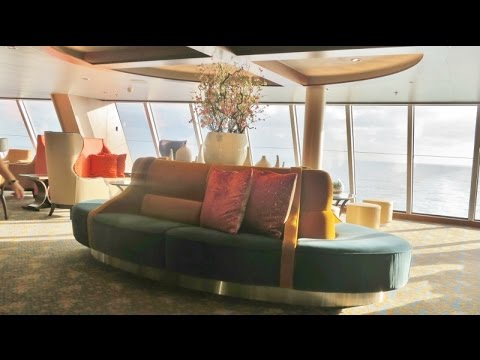 Concierge Club and Diamond Club  lounges, Quantum of the Seas