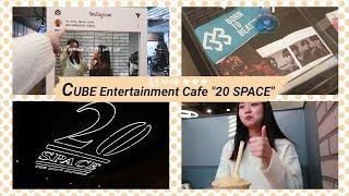 CUBE Entertainment Cafe 20 SPACE   : BTOB selfie zone, Yoo SeonHo merchandise | JaeY