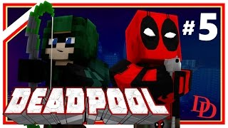 """Minecraft Deadpool #5: """"Daredevil vs The Punisher!"""" (Minecraft Roleplay) Ep 5 w/ Xylophoney"""