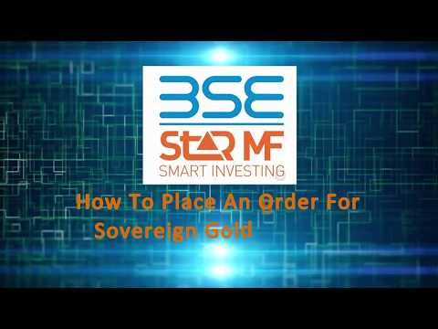 BSE StAR MF-Sovereign Gold Bond (SGB)