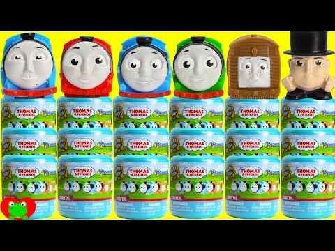 LEARN Colors and Numbers with Thomas and Friends Mashems