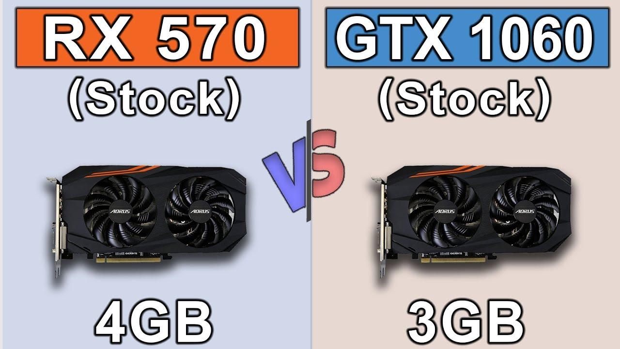 RX 570 (4GB) vs GTX 1060 (3GB) | New Games Benchmarks