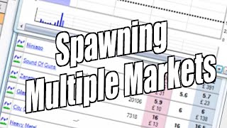 Spawning multiple markets on Bet Angel's ladder interface