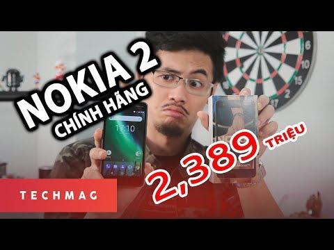 Mở hộp Nokia 2 chính hãng giá 2tr389: Pin khủng, giá ngon ll TechMenu || TECHMAG