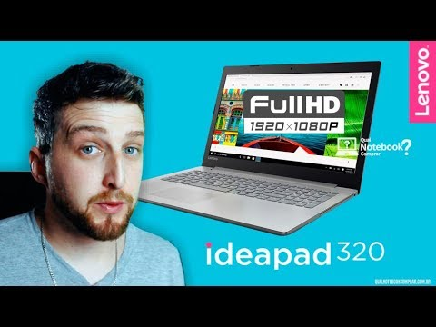 Notebook Lenovo Ideapad 320 vale a pena comprar? Conheça a série