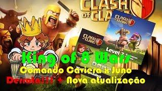 Clash of Clans - Comando Caveira x Juno - Derrota!!! + Nova atualização