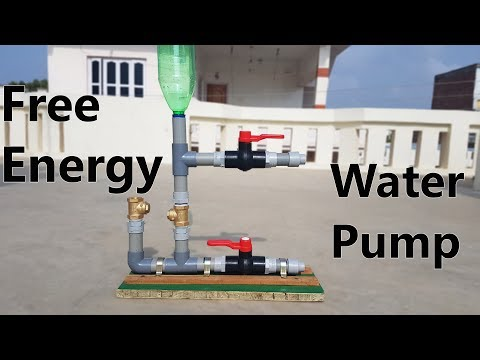 How to Make Free Energy Water Pump