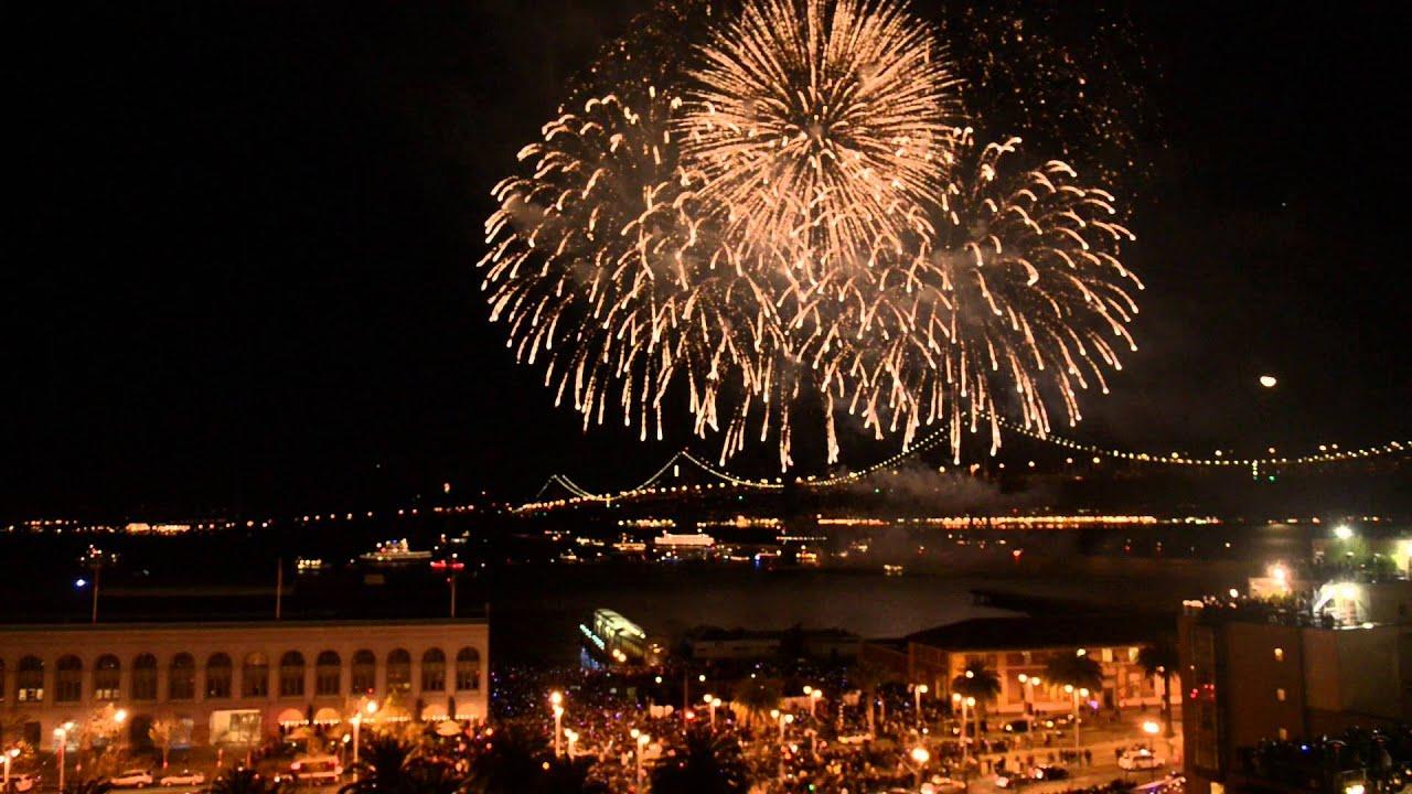 San Francisco New Years Eve Fireworks  E B B E  A E   E B B E B A E B B E   E  Ab E A A E Bc