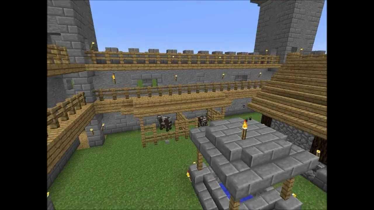 Minecraft  The Little Castle Nordvik