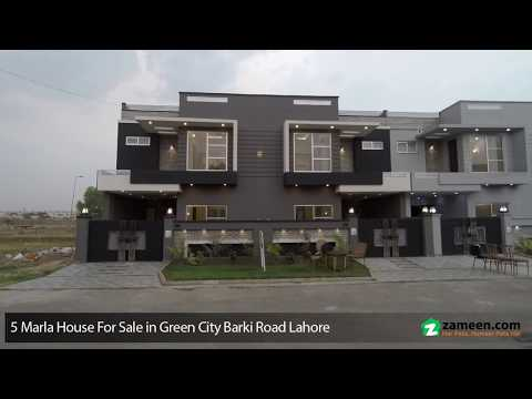 5 MARLA BRAND NEW HOUSE FOR SALE IN GREEN CITY BARKI ROAD LAHORE